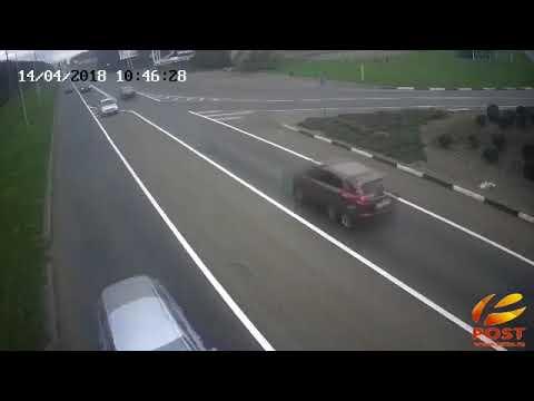 ДТП в Пятигорске на посте ДПС