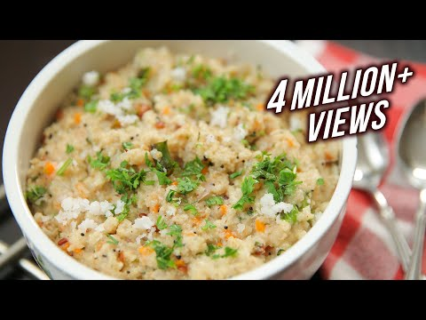Oats Upma Recipe | Vegetable Oats Upma | Healthy Breakfast Ideas | Weight Loss Recipe | Ruchi