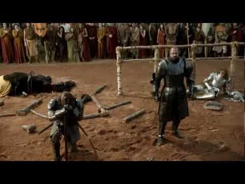 Ser Loras Tyrell vs Gregor Clegane tournament