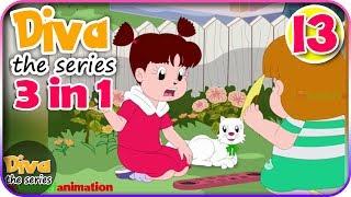 Video Seri Diva 3 in 1 | Kompilasi 3 Episode ~ Bagian 13 | Diva The Series Official MP3, 3GP, MP4, WEBM, AVI, FLV Juni 2018