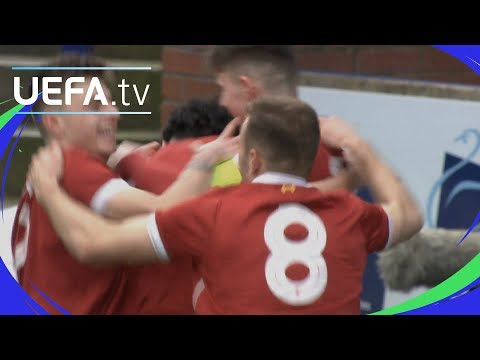 UEFA Youth League Highlights: Liverpool 2-0 Man. United