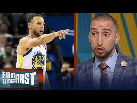 Armor-less Warriors: Nick Wright on how Portland and Houston can dethrone GSW | FIRST THINGS FIRST (видео)