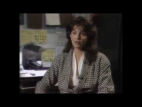 Joan Severance in the making of See No Evil Hear No Evil