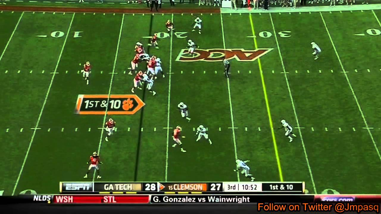 Tajh Boyd vs Georgia Tech (2012)