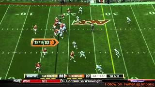 Tajh Boyd vs Georgia Tech (2012)
