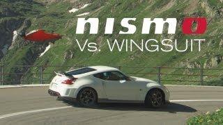 Nismo 370Z versus Wingsuit