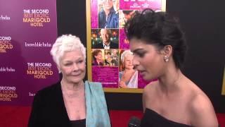 Nonton The Second Best Exotic Marigold Hotel  Judi Dench   Tina Desai Nyc Premiere Interview Film Subtitle Indonesia Streaming Movie Download