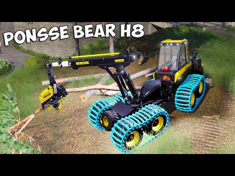 Ponsse Bear 8w + Feller Buncher v1.0.0.0
