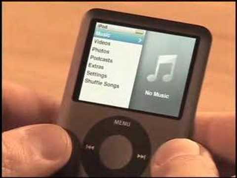 Apple iPod Nano (3rd Gen) Video Review