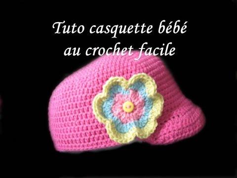 TUTO CASQUETTE BEBE AU CROCHET FACILE NEWSIE BABY CROCHET