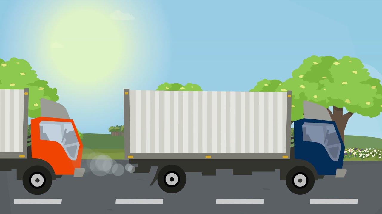 Animation for Railway company