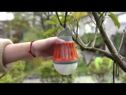 Video: Lapač hmyzu a přenosná lampa Jata MIB6