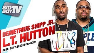 Demetrius Shipp JR. & L.T. Hutton stopped by the Neighborhood to talk about their new movie, All Eyez On Me!
