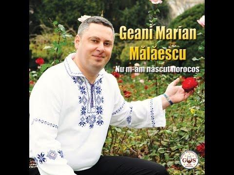 Spot Album-Geani Marian Mălăescu-Nu m-am născut norocos-NOU 2014
