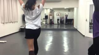 ジャズダンス中級クラス 須田綾乃 20160216