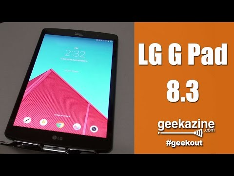 LG G-Pad 8.3 Android Tablet with Full Size USB