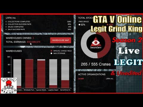 GTA V Online LEGIT Grind Kingz Season 2 Episode 7