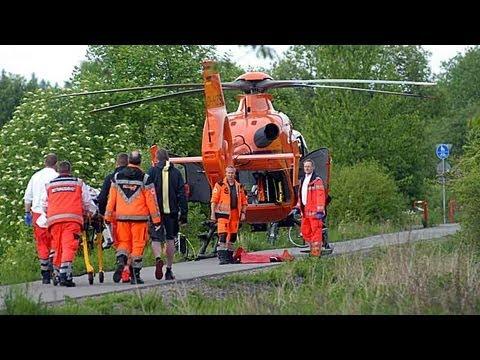 Korbach: Nach Fahrradunfall in Klinik geflogen