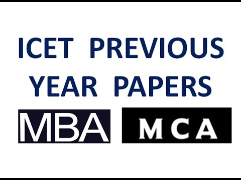 Icet Previous Year Papers || Best Way To Study