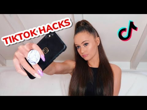 TIKTOK HACKS & TRANSITIONS | Holly H
