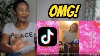 Backside Challenge Musically & TikTok Compilation | Funny Challenges#backsidechallenge | Reaction