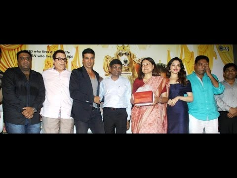 Akshay Kumar,Tammanah & Others At The Trailer Launch Of Movie Its Entertainment