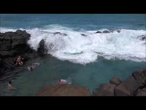 Rogue Waves At Queen s Bath Hawaii