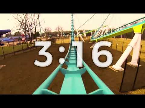 5 Min Countdown Timer Roller Coaster For Youth Groups, Churches, Concerts
