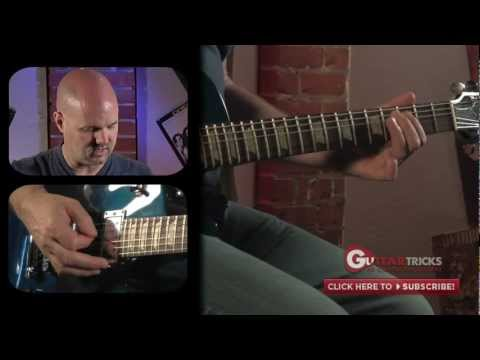 Chromatic Blues in G – Blues Guitar Lesson – Guitar Tricks 102