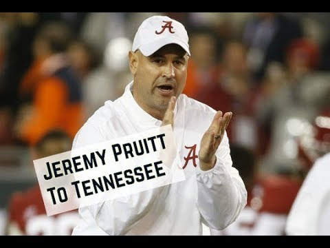 Jeremy Pruitt named Tennessee head football coach