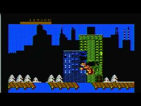 rampage nes rom cool