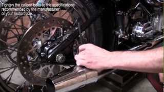 9. How to Remove, Install, and Change a Rear Tire on a Softail (Narrated)