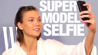 How to Take a Selfie Like a Supermodel - YouTube