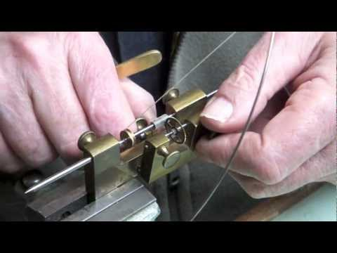 Watchmaking, Use of a very Rare Tool, Ingold Fraise / Cutter