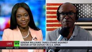 Video ABL Debates M. Reese Everson About Serena Williams on RT (FULL) MP3, 3GP, MP4, WEBM, AVI, FLV September 2018