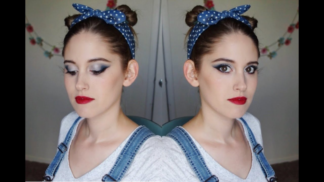 Festive Fourth of July Makeup Tutorial