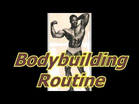 Bodybuilding Routines – Bodybuilding Tips To Get Big