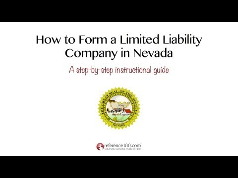 How to Form an LLC in Nevada