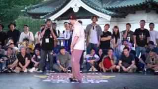 Greenteck vs Kite – Red Bull BC One Japan Camp 2017 SAMURAI POPPIN 1on1 WORLD FINAL BEST8 (Another angle)