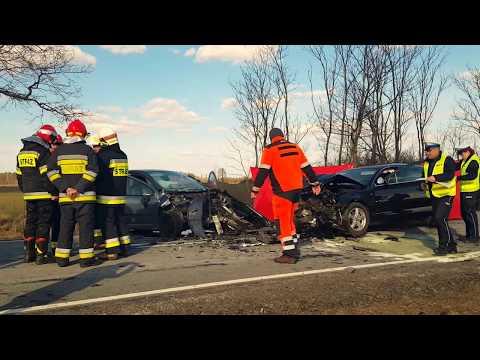 Wideo1: Śmiertelny wypadek na 12