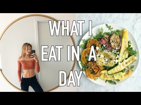 What I Eat in a Day as a Model | My Daily Routine, Breakfast, Lunch, Dinner | Sanne Vloet