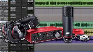 Video Recording with the Focusrite Scarlett 2i2 Studio Bundle - Warren Huart: Produce Like A Pro MP3, 3GP, MP4, WEBM, AVI, FLV Juli 2018
