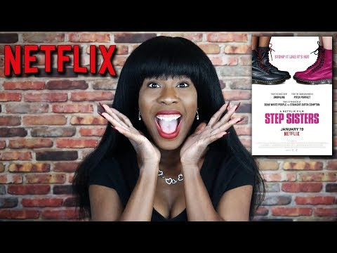 I'M ON NETFLIX!!!!! (Step Sisters review)