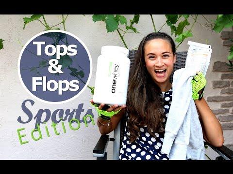 Tops und Flops Juli 2015 - Sport Edition - Protein Test, Handschuhe, Sportbekleidung