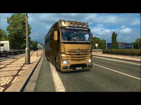 Mercedes Actros Motorhome Pro edit