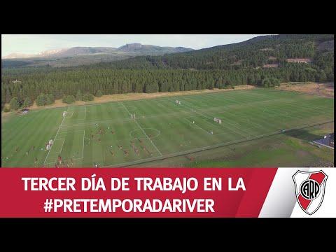 ¡DESDE EL DRON! ENTRENAMIENTO EN SAN MARTÍN DE LOS ANDES