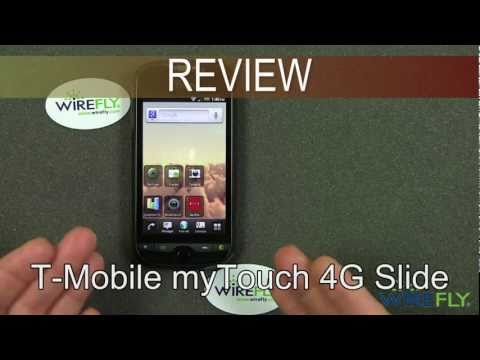 T-Mobile myTouch 4G Slide Review - Part 2