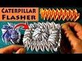 foto Origami Caterpillar Flasher