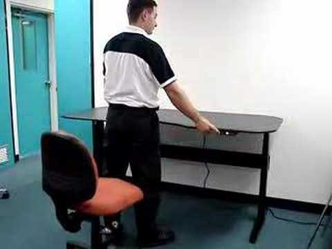 motiondesk-electric height adjustable ergonomic desk