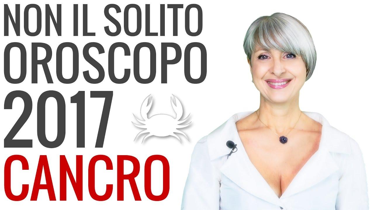 OROSCOPO 2017 ★ Cancro